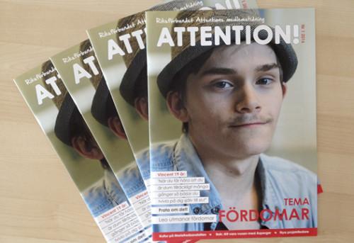 Medlemstidningen Attention