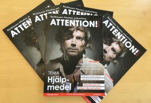 Läs medlemstidningen Attention