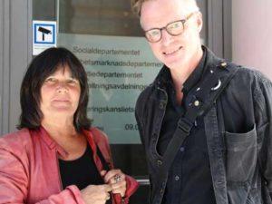 Karin Torgny, projektledare Nätkoll och Ulf Dalquist, Statens medieråd.